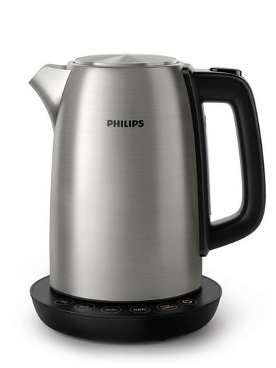 Philips Wasserkocher HD9359/90, 1,7 l, 2200 W