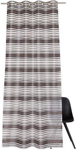 Vorhang nach Maß »Such«, Ösen (1 Stück), Streifendesign