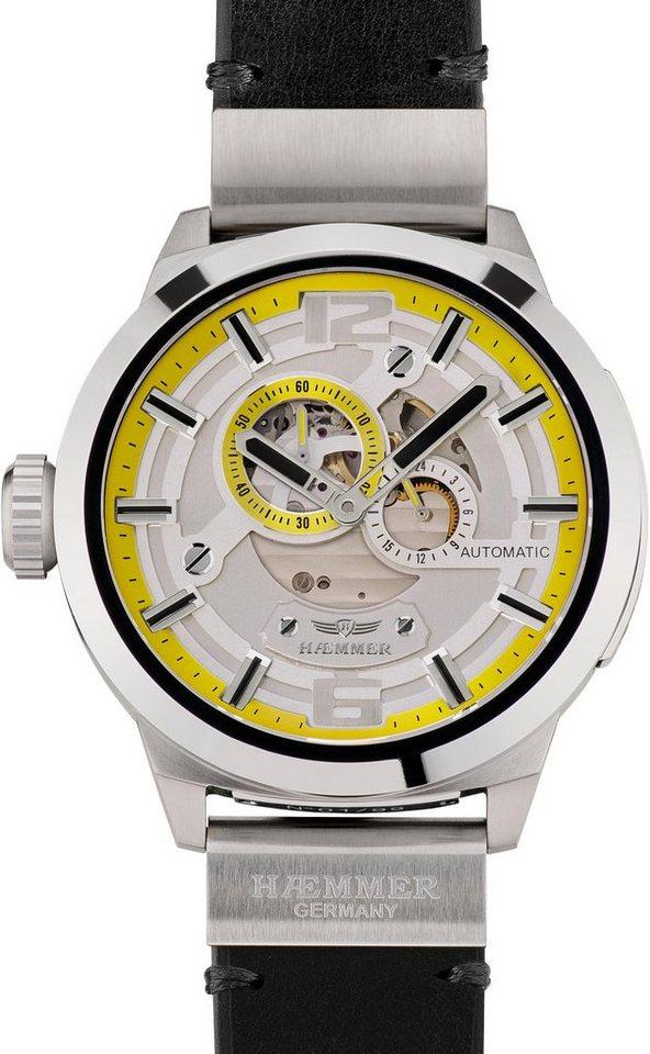 HAEMMER GERMANY Automatikuhr »GREAT LIBERTY, RS-100« | Uhren > Automatikuhren | Schwarz | HAEMMER GERMANY