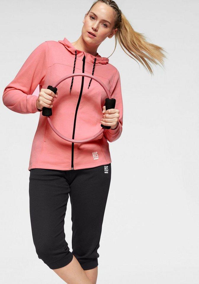 H.I.S Jogginganzug (Packung, 2 tlg), Große Größen | Sportbekleidung > Sportanzüge > Jogginganzüge | Rosa | H.I.S