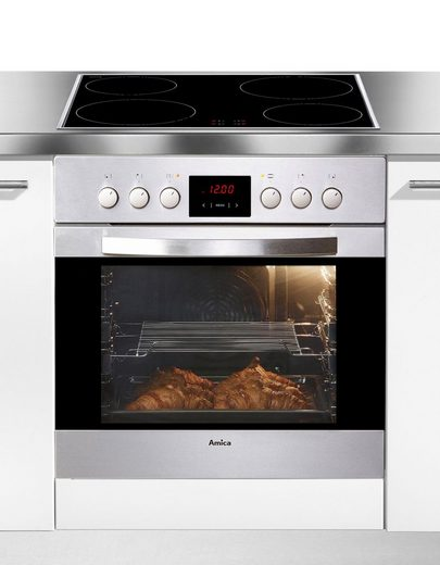 Amica Induktions Herd-Set EHI 12919 E, SteamClean
