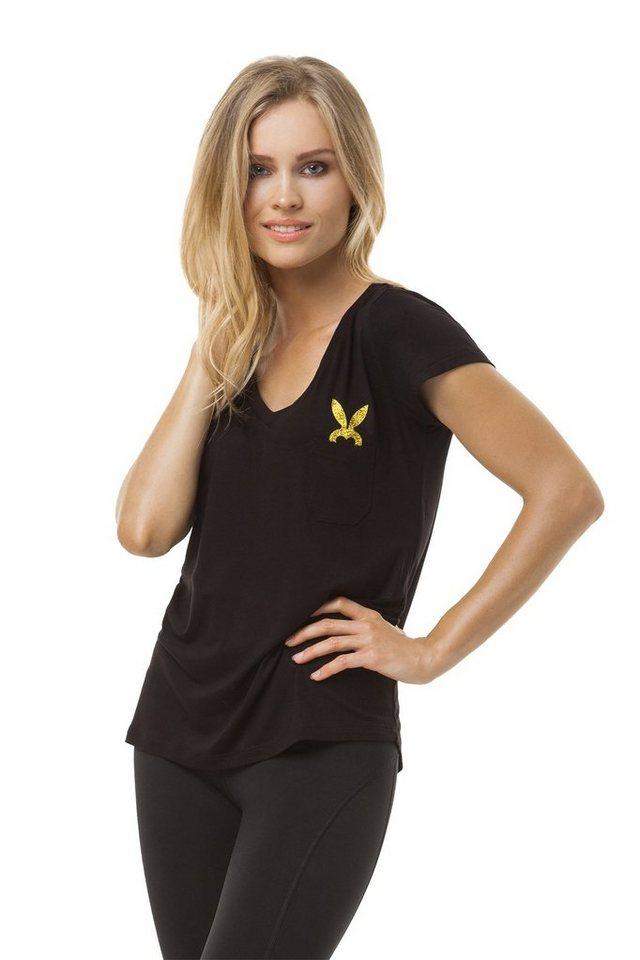 cardio bunny t shirt mit stylischem markenprint alice. Black Bedroom Furniture Sets. Home Design Ideas
