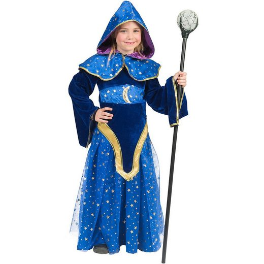 Funny Fashion Kostüm Magierin