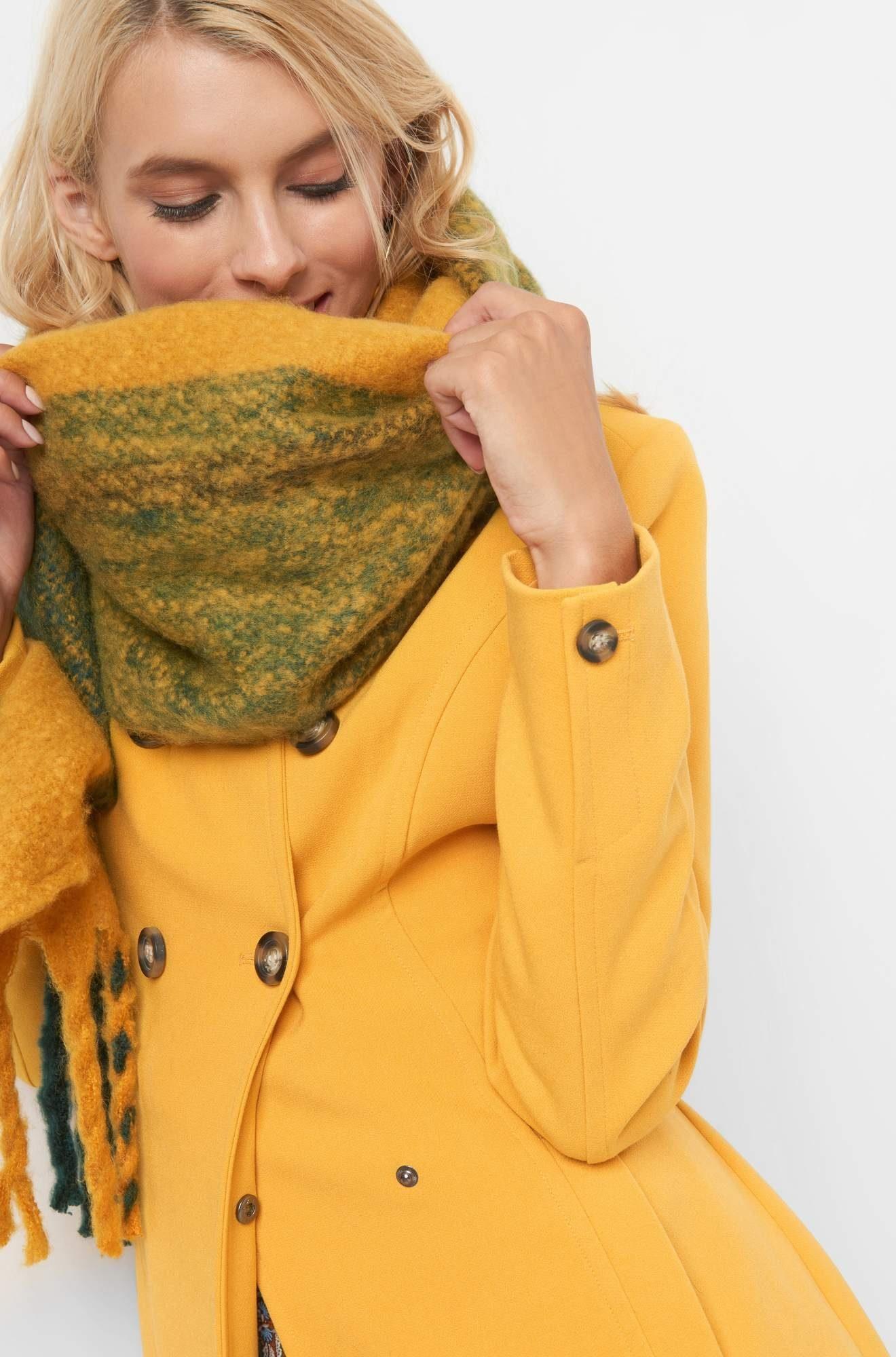 ORSAY Modeschal warmer Herbstschal in Wolloptik