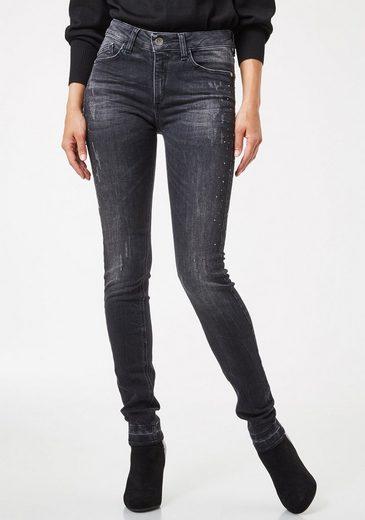 Pierre Cardin Jeans mit Strassdetails - Skinny Fit »My Favourite Glow«