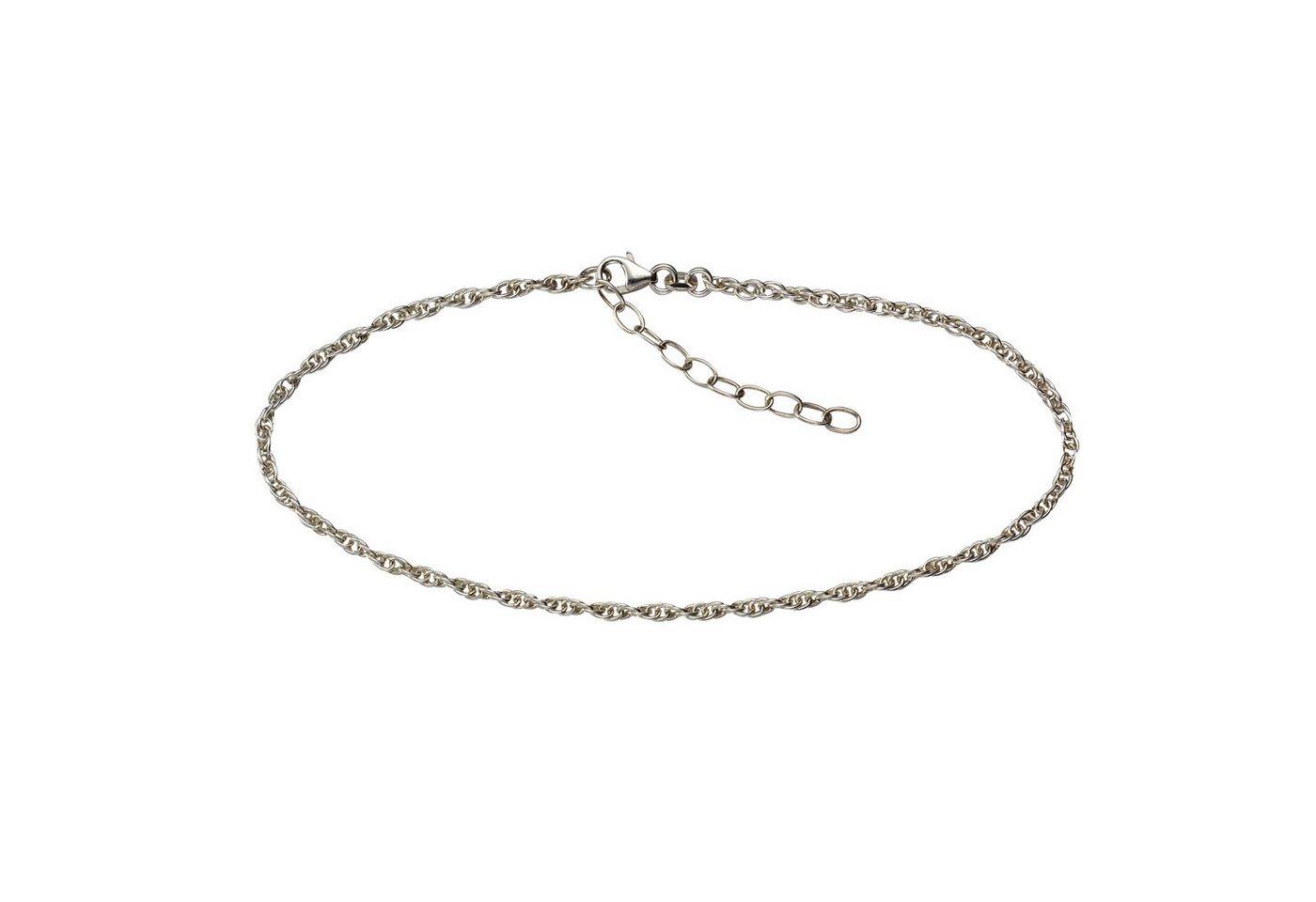 VIVANCE Fußkette »925/- Sterling Silber rhodiniert« | Schmuck > Fußschmuck | Weiß | Vivance
