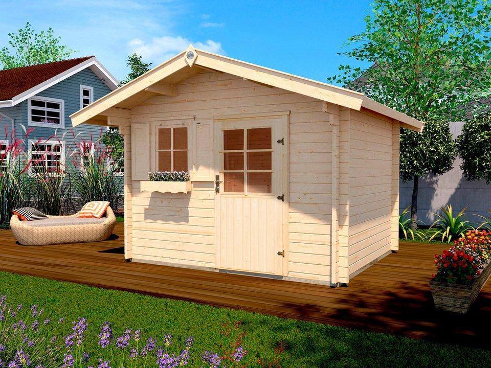 weka gartenhaus gr 1 bxt 288x280 cm inkl fu boden online kaufen otto. Black Bedroom Furniture Sets. Home Design Ideas