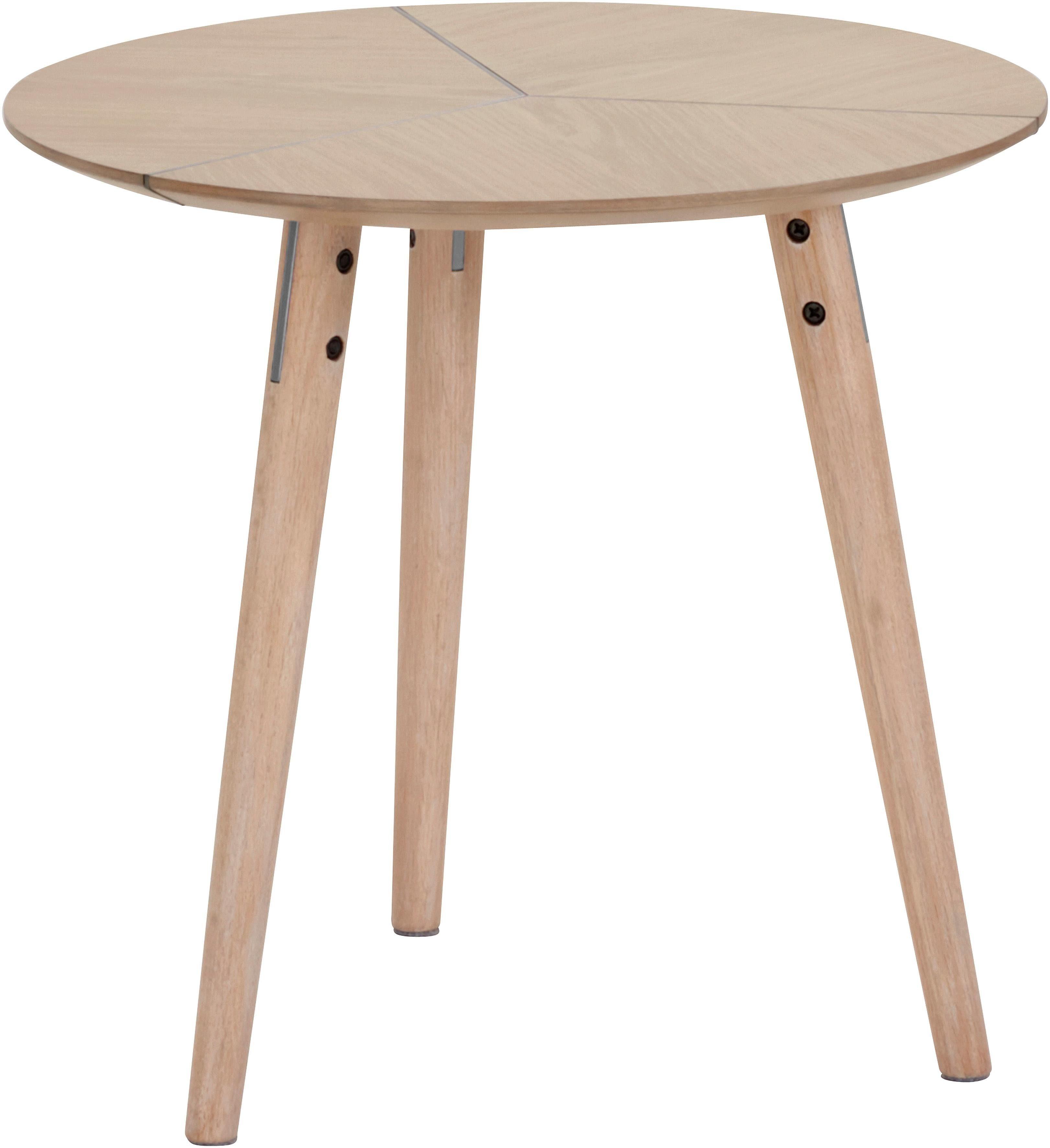 andas Couchtisch »Dohm« aus massivem Eschenholz mit einer modernen Fräsung auf der Tischplatte, Design by Morten Georgsen