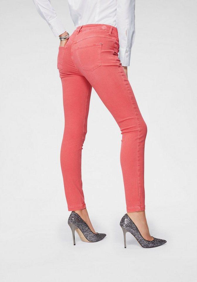 MAC Gerade Jeans »Dream Skinny« Hochelastische Qualität sorgt für den perfekten Sitz | Bekleidung > Jeans > Gerade Jeans | Rot | MAC