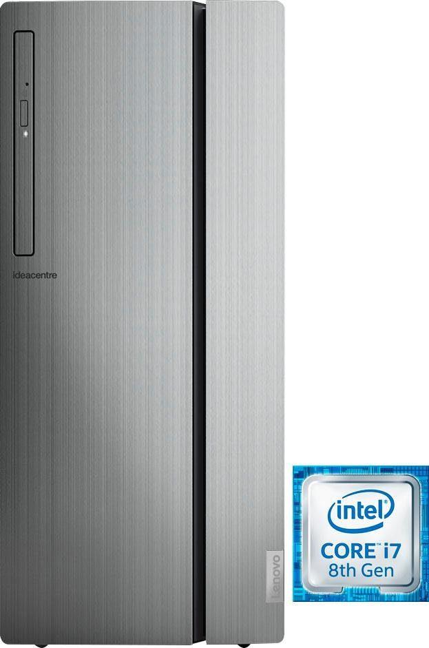 Lenovo ideacentre 720-18ICB Gaming-PC (Intel Core i7, UHD Graphics 630, 16 GB RAM, 1000 GB HDD, 128 GB SSD)