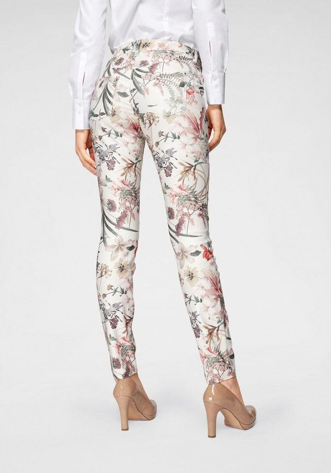09e2e8806d MAC Skinny-fit-Jeans »Dream Skinny« Allover mit edlem Druck online ...