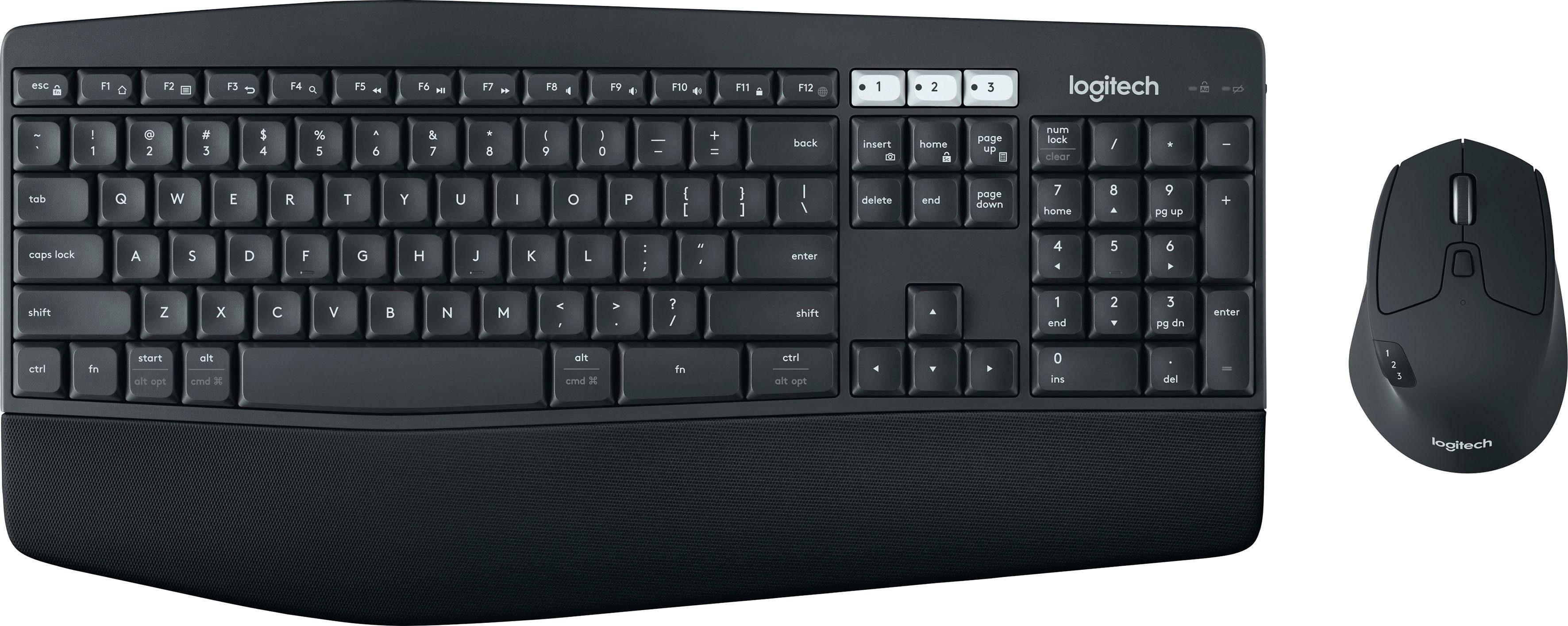 Logitech »MK850 Performance Wireless« Tastatur (Ziffernblock)