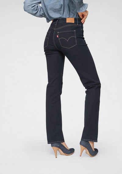 7a7c344e6e115c Levi's® Gerade Jeans »314 Shaping Straight« Form 314 gerader Schnitt