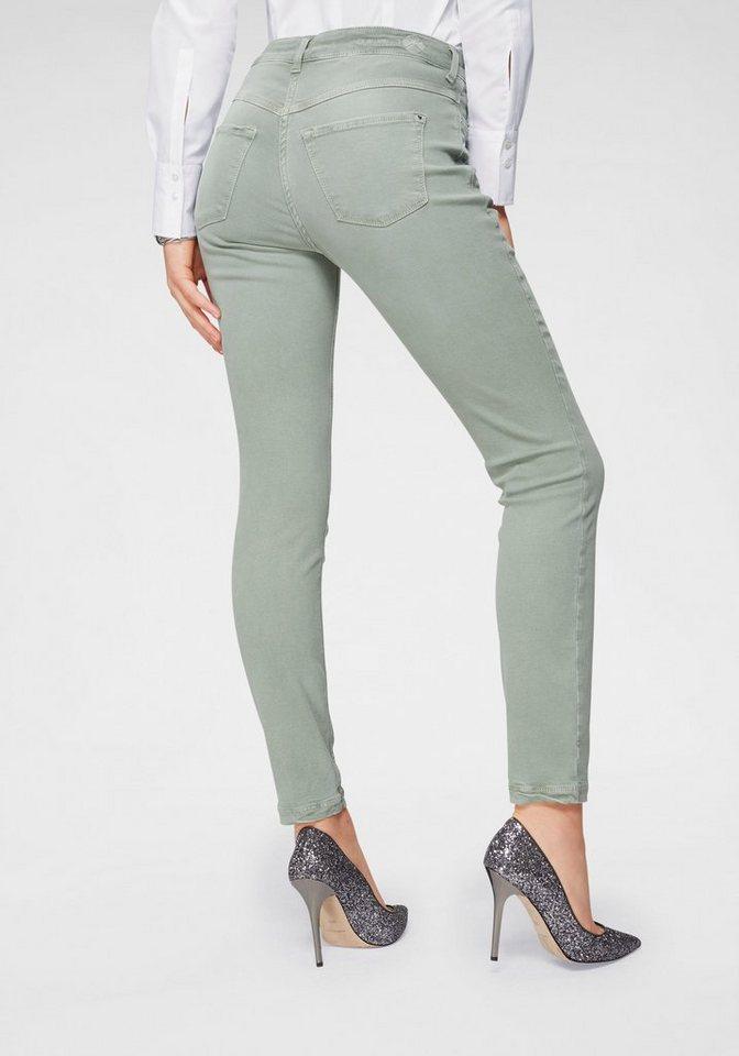 MAC Gerade Jeans »Dream Skinny« Hochelastische Qualität sorgt für den perfekten Sitz | Bekleidung > Jeans > Gerade Jeans | Grün | MAC