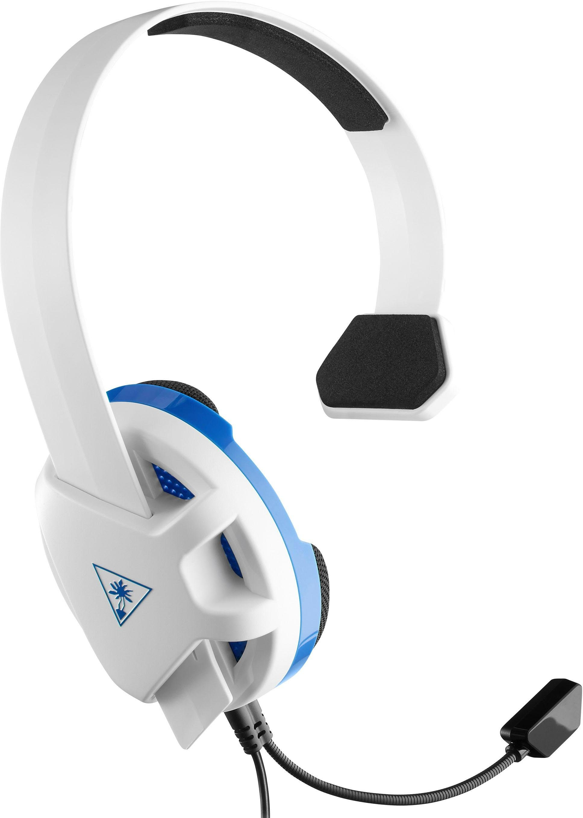 Turtle Beach »Recon PS4« Gaming-Headset (SpecsFit™ Brillenmeidungsbereich, 40-mm-Lautsprecher, Kugelmikrofon)