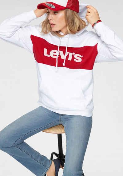 Kapuzensweatshirt »cb Levi's® Block Logo Marken Hoodie« Colour Mit Sportswear kTOPZiuX