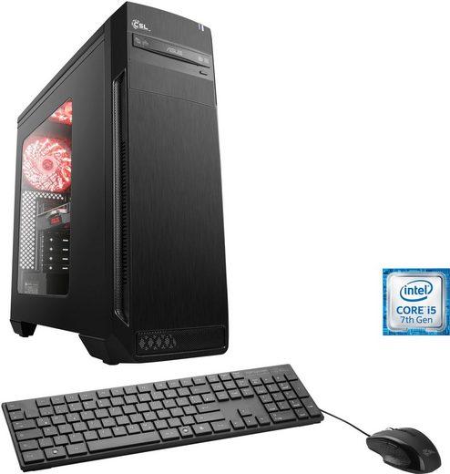 CSL Speed T5991 Gaming-PC (Intel® Core i5, GTX 1060, 8 GB RAM, 1000 GB HDD, 120 GB SSD)