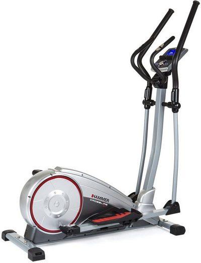 Hammer Crosstrainer-Ergometer »Crosslife BT«, Fitnesssnote und Erholungsherzfrequenz zur Kontrolle der Leistungsverbesserung