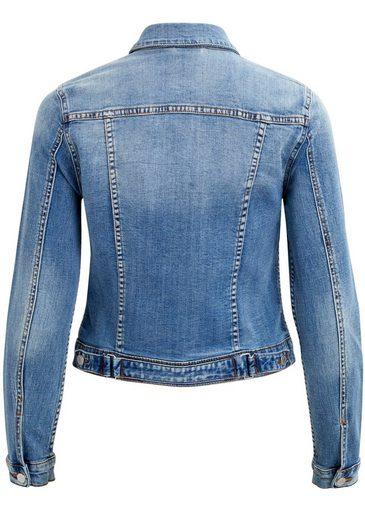 Jacket« Jeansjacke Klassische »vishow Vila Denim Form dt1qWzx