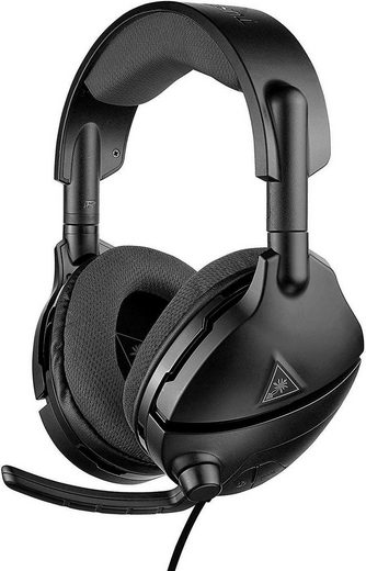Turtle Beach »Atlas Three PC« Gaming-Headset (ProSpecs Glasses Relief System, Mikrofondesign Fixiertes, durch Hochklappen stummschaltbares Kugelmikrofon)