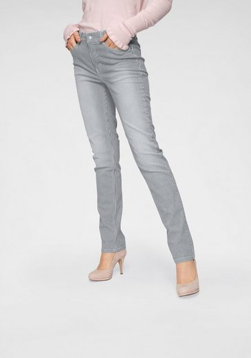 Stripe« jeans Mit Mac Streifen Used optik pocket »angela 5 wfqSF7I