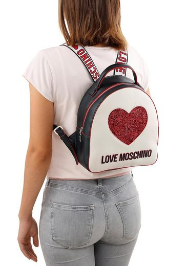 Cityrucksack Moschino Love Glitzerdetails Mit Glitzerdetails Cityrucksack Love Mit Glitzerdetails Moschino Cityrucksack Moschino Love Mit EYfFwHqE