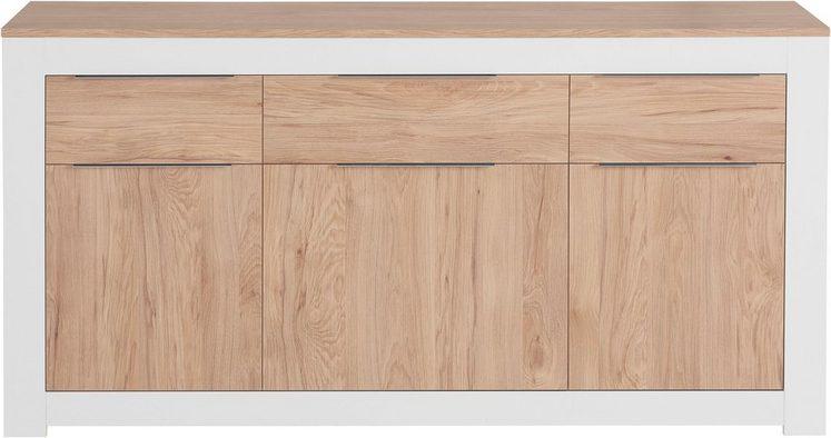 my home Kommode »Detrux«, 3-türig, Breite 157 cm