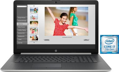 HP 17-by0023ng Notebook (43,9 cm/17,3 Zoll, Intel Core i7, 2000 GB HDD, 16 GB SSD)
