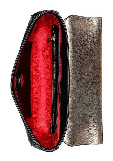 Tragbar Verstellbare Schultertasche Goldfarbene Als Eine Durch Umhängekette Auch Love Moschino Beschläge Umhängetasche 1Iaqzz