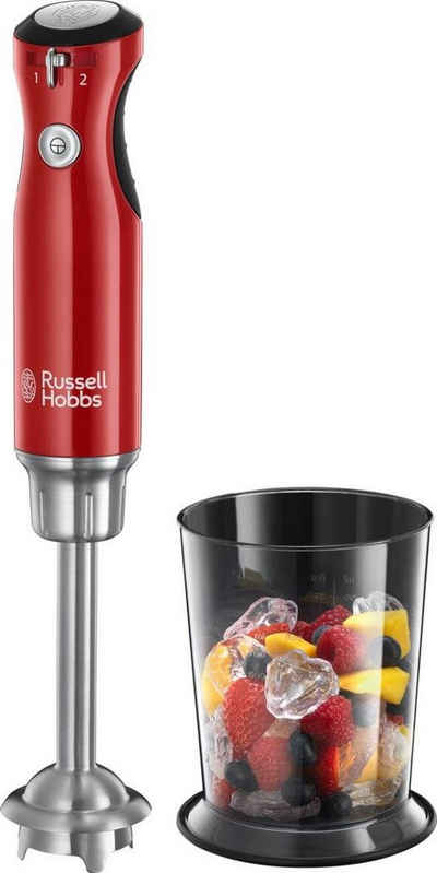 RUSSELL HOBBS Stabmixer 25230-56 Retro Ribbon Red, 700 W