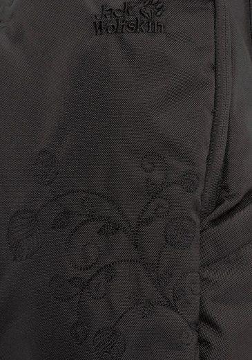 Daypack Dezente Florale »ancona« Jack Stickerei Wolfskin 4Sxq7C