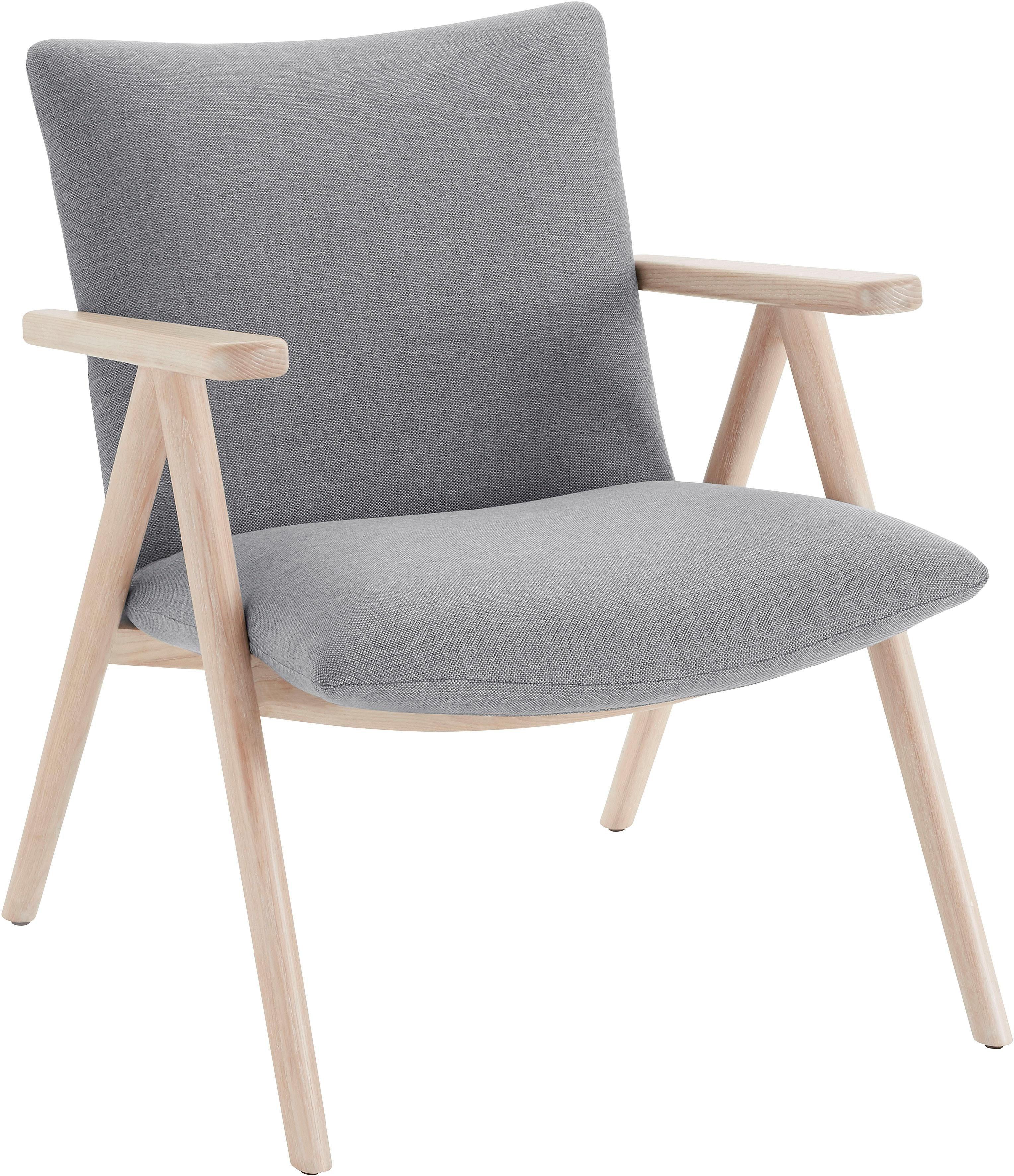 andas Sessel »Dreyer« mit Beingestell aus massivem Eschenholz, Design by Morten Georgsen
