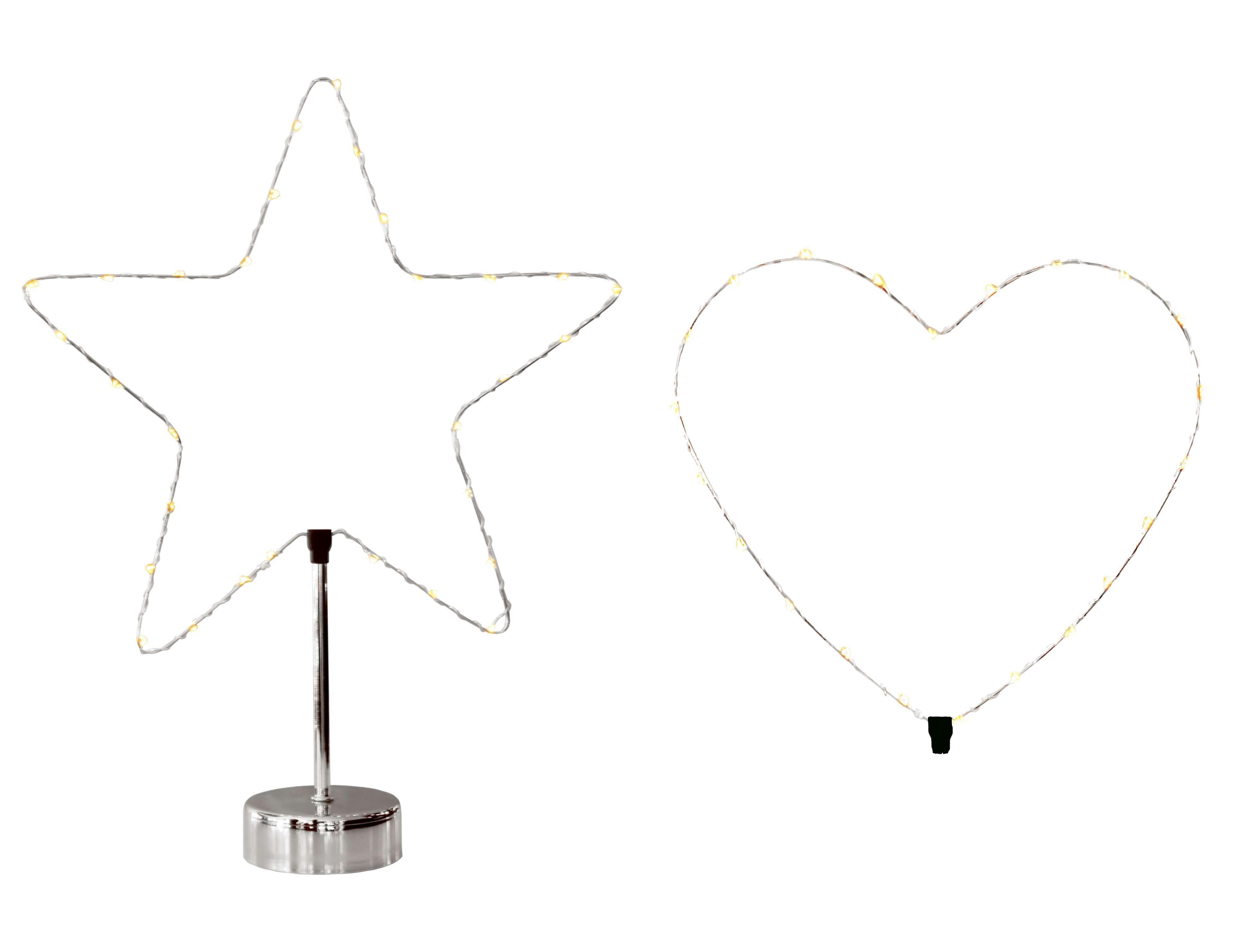 Star LED-Tischdekoration mit Batteriebetrieb »LED-Tischdekoration«