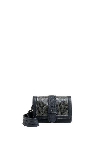 Damen Fritzi aus Preußen Umhängetasche LOLA  Muster auf der Frontseite schwarz | 04059065149717