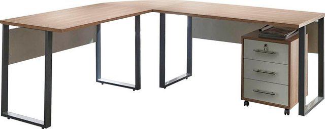 Büromöbel Sets - BMG Büro Set »Tabor«, (Set, 2 St)  - Onlineshop OTTO