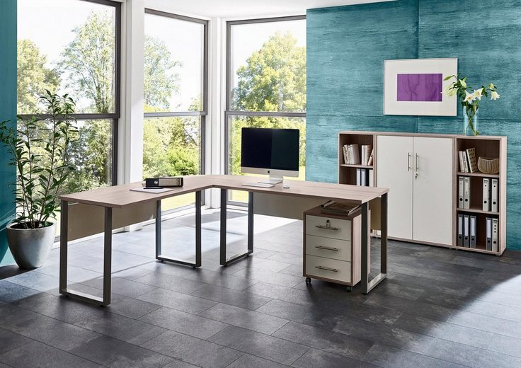 Büro-Set »Tabor Office 2«, (Set, 6-tlg)