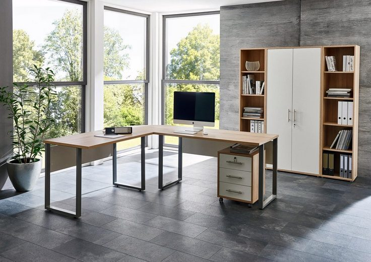 Büro-Set »Tabor Office 3«, (Set, 6-tlg)