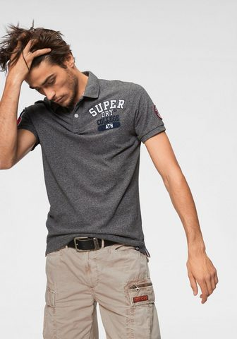 SUPERDRY Кофта-поло »CLASSIC SUPERSTATE P...