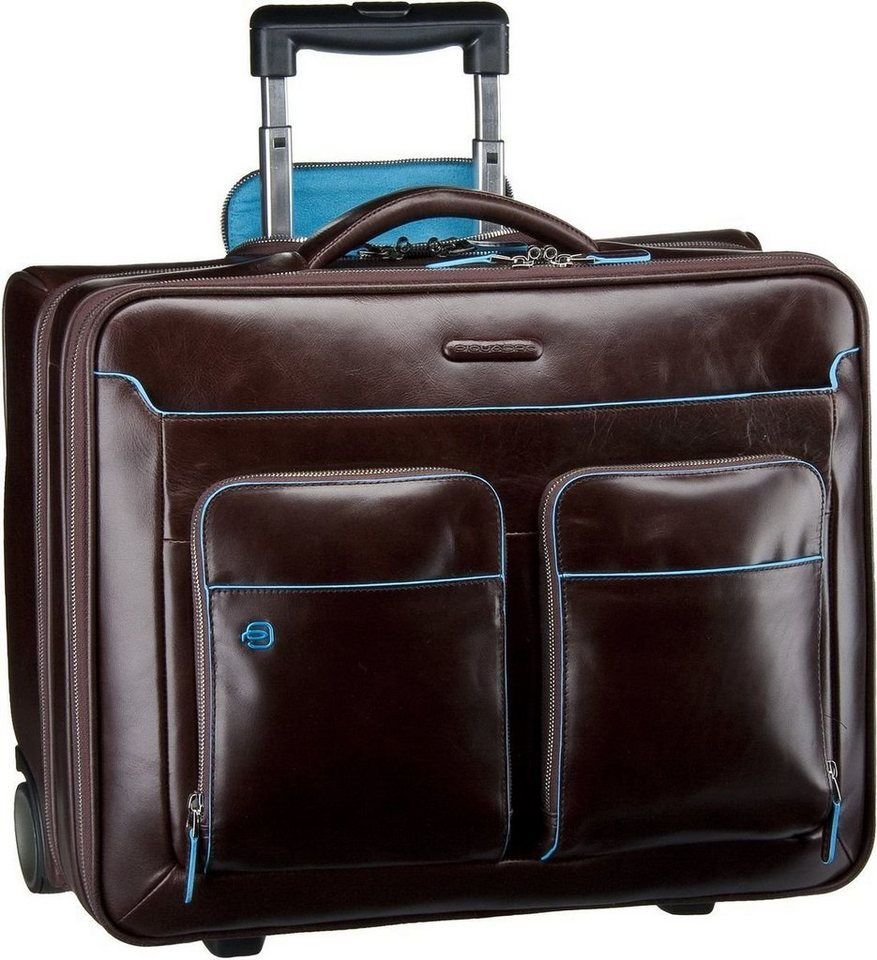 Piquadro Pilotenkoffer »Blue Square Business Trolley« | Taschen > Businesstaschen > Business Trolleys | Lila | Piquadro