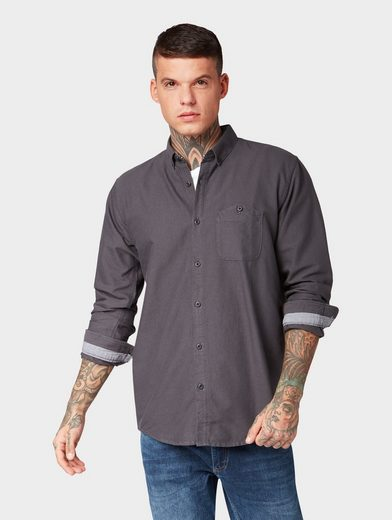 TOM TAILOR Denim Hemd »Revolverheld: Hemd aus Organic Cotton«