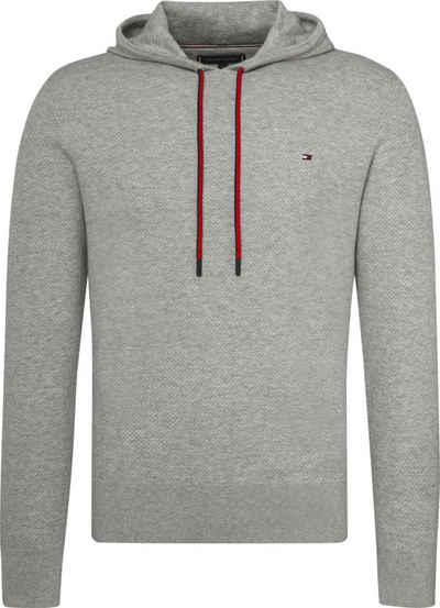 Tommy Hilfiger Pullover »COTTON MESH STRUCTURED HOODY« 8e4d76a0ad