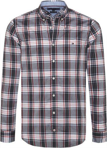 Tommy Hilfiger Hemd »SLIM MULTI COLOR CHECK SHIRT«