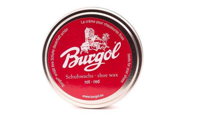 Burgol Schuhlöffel »Burgol Schuhcreme«, Imprägniert und verleiht Glanz | Schuhe > Schuhe-Pflegemittel | Rot | Burgol