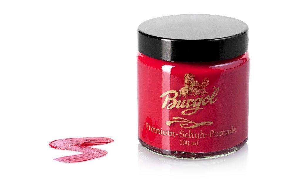 Burgol Schuhcreme »Burgol Pomade«, Hochwertige Mischemulsionscreme | Schuhe > Schuhe-Pflegemittel | Rot | Burgol