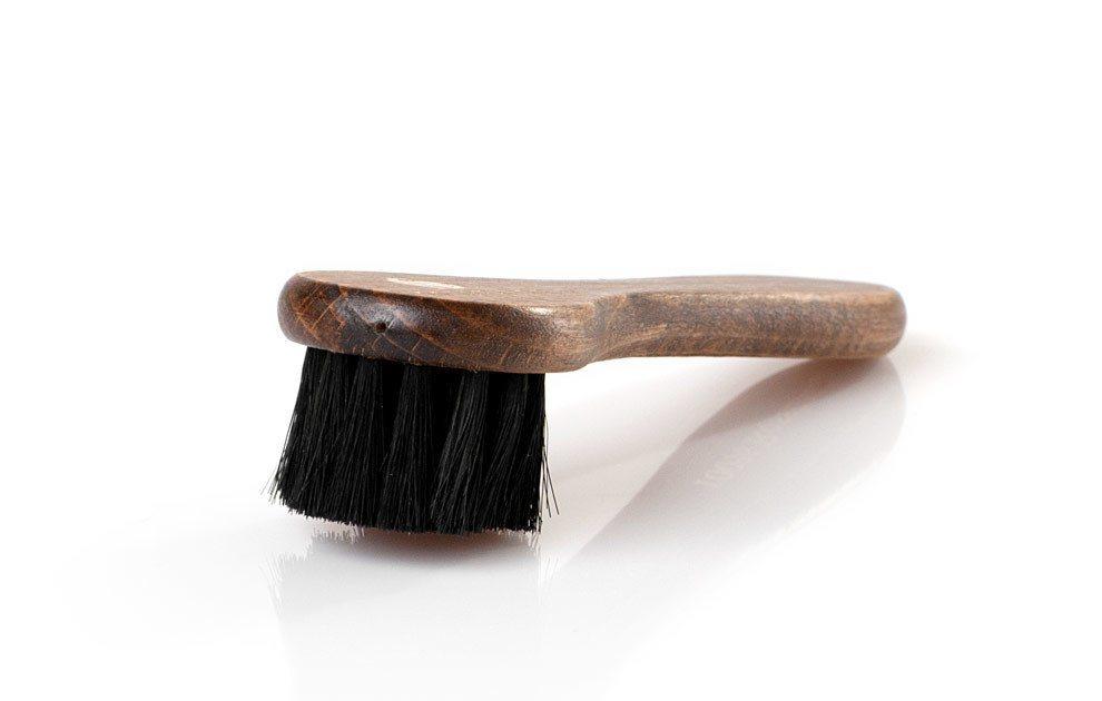 Solitaire Schuhlöffel »Tiegelbürste«, Gleichmäßiges Auftragen von Schuhcreme | Schuhe > Schuhe-Pflegemittel | Schwarz | Solitaire