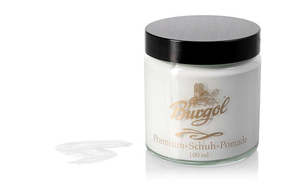 Burgol Schuhcreme »Burgol Pomade«, Hochwertige Mischemulsionscreme | Schuhe > Schuhe-Pflegemittel | Weiß | Burgol