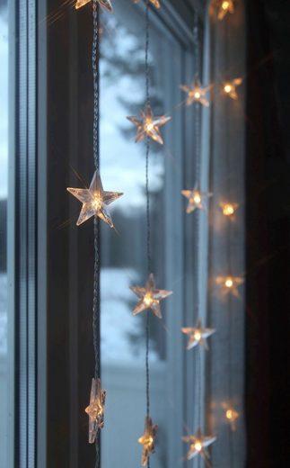 Star LED-Lichtvorhang mit Sternen »Star Curtain«
