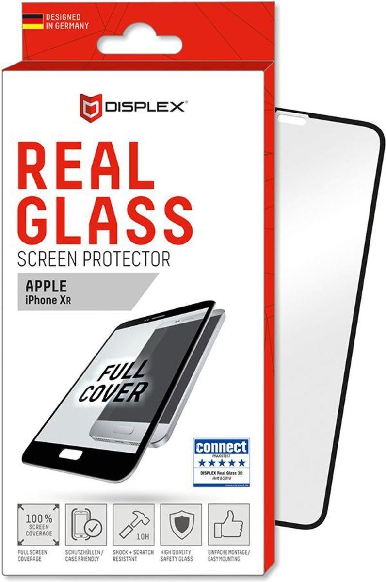 Displex Folie »Real Glass 3D Apple iPhone XR - Fullcover«