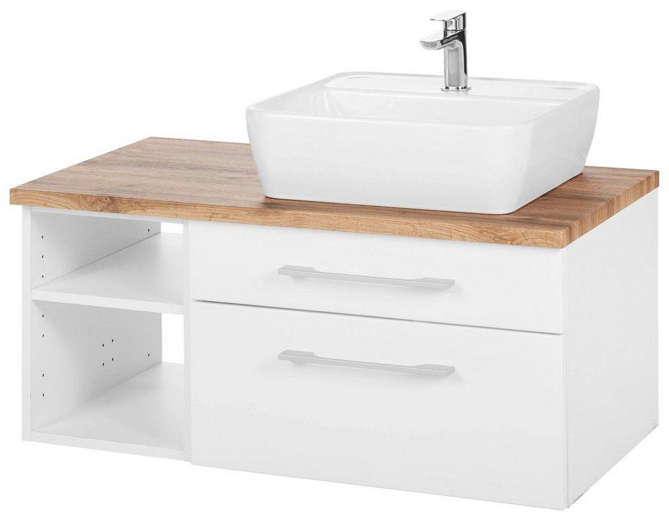 Held Möbel Waschtisch »Davos«, Breite 90 cm, Hochwertige MDF-Fronten online  kaufen | OTTO