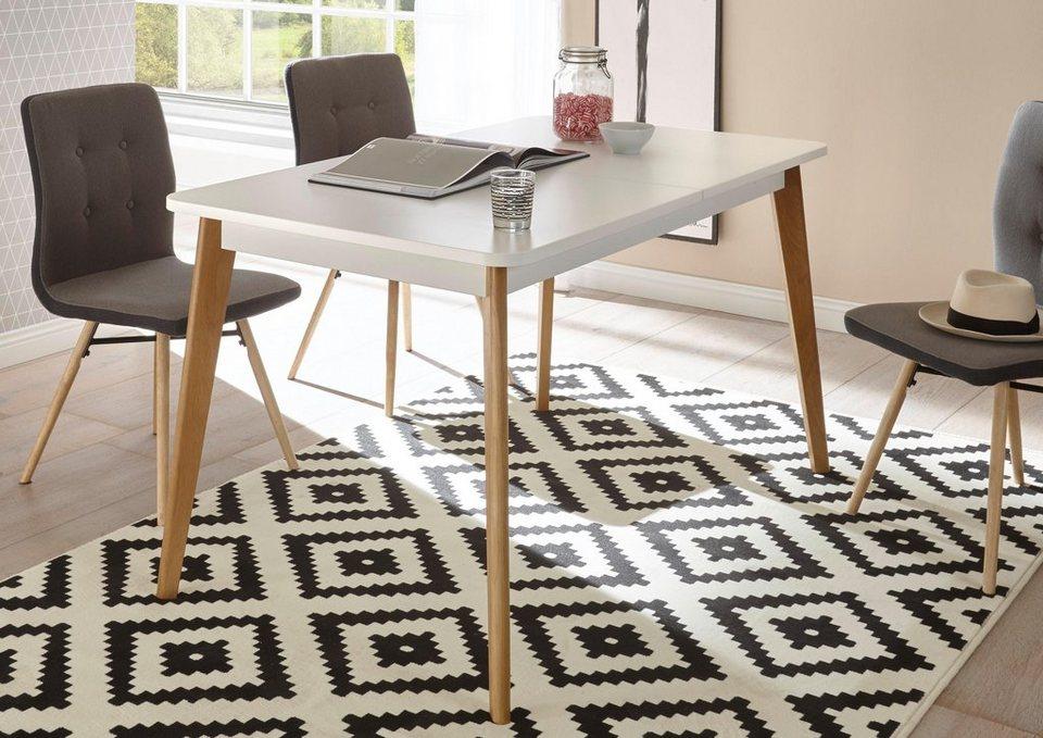 Andas esstisch merle im skandinavischen design breite for Design esstisch 140